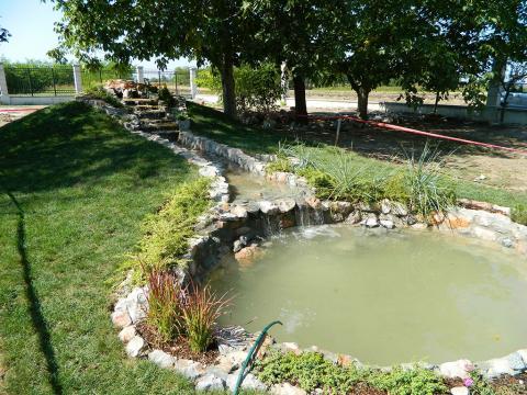 Izrada fontana i veštačkih jezera