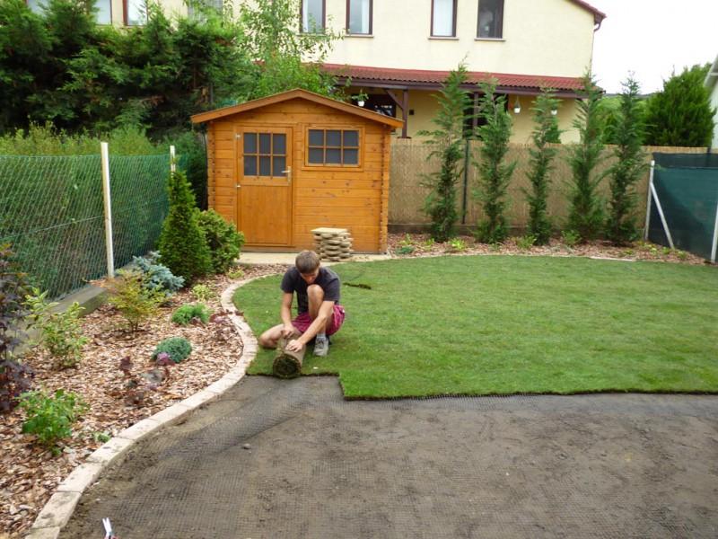 Sadni materijal  izgradnja travnjaka, održavanje travnjaka, tepih trava  Ze...